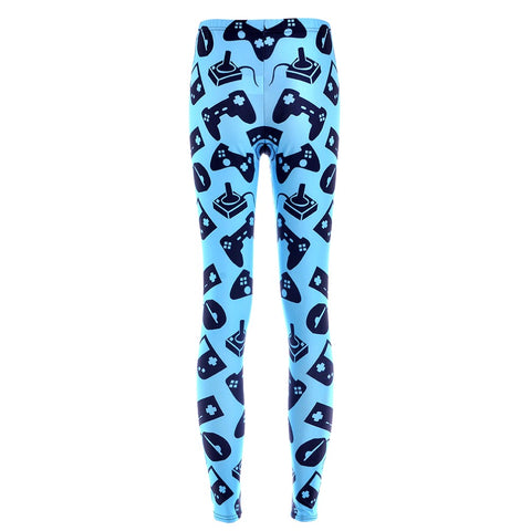 Blue Gamer Baby Leggings
