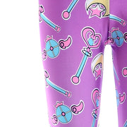 Purple Magical Girl Leggings