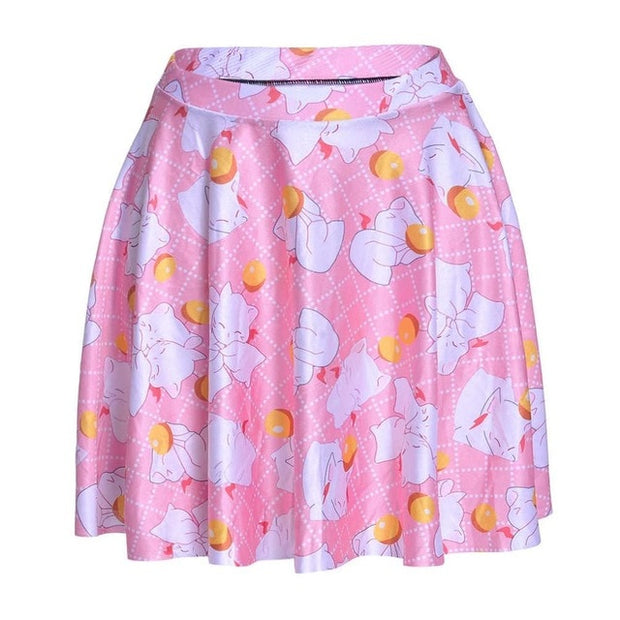 Kawaii Kitten Skater Skirt