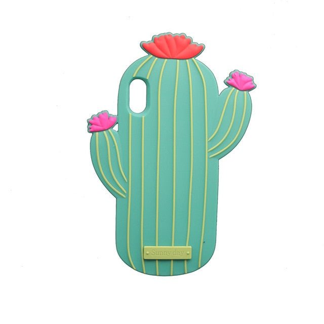Cute Cactus iPhone Case