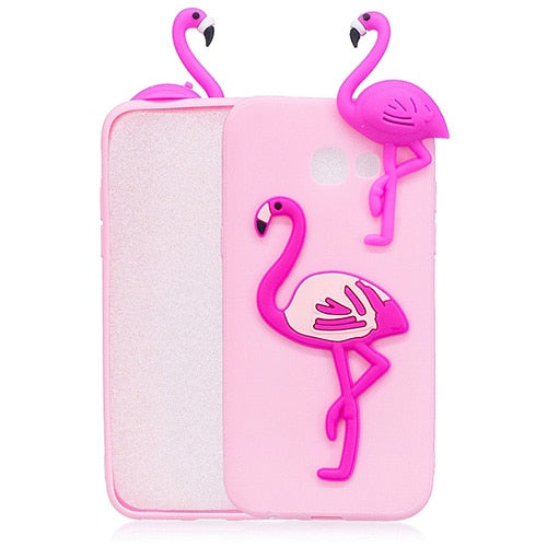 Pink Flamingo Samsung Galaxy Phone Case