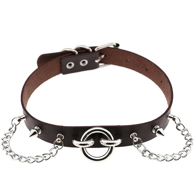 Sexy Punk Chain Collar (16 Colors Available)