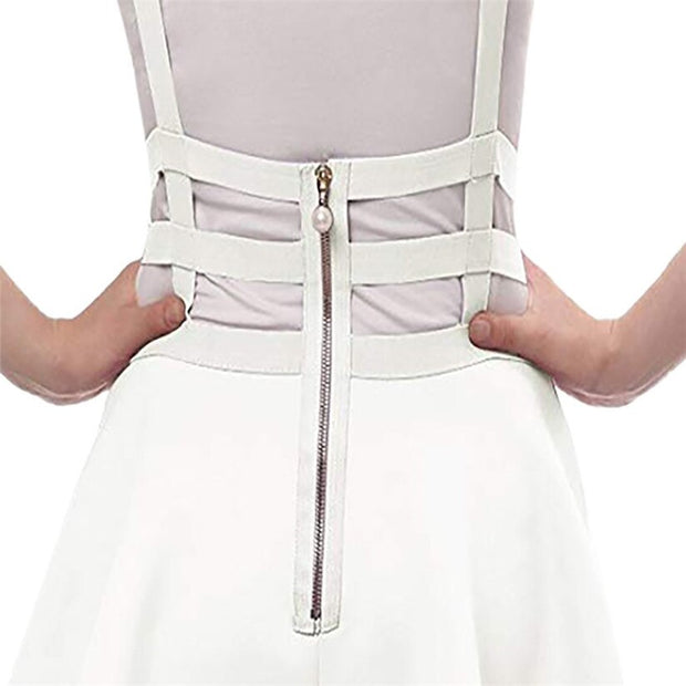 Kawaii Suspender Mini Skirt (3 Colors Available)