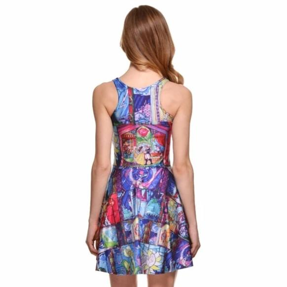 Beauty & The Beast Stained Glass Dress