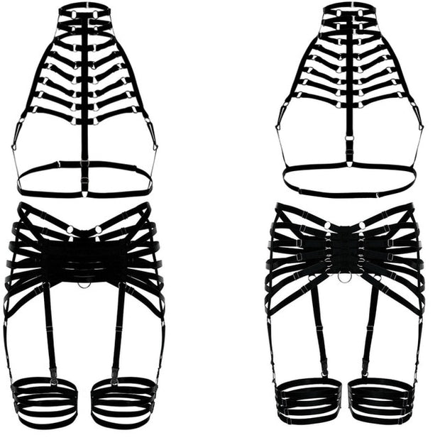 Trinity Body Harness (3 Colors Available)