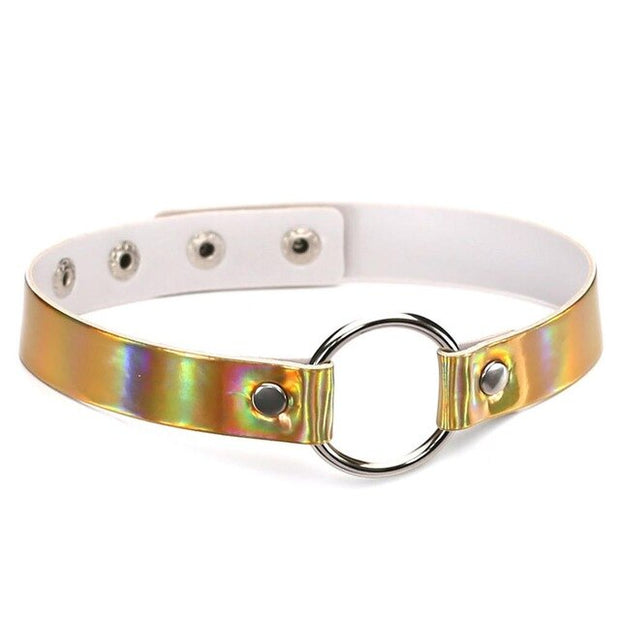 Holo O-Ring Collar (4 Colors Available)