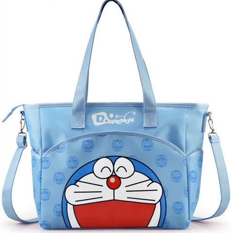 Blue Doraemon Messenger Bag