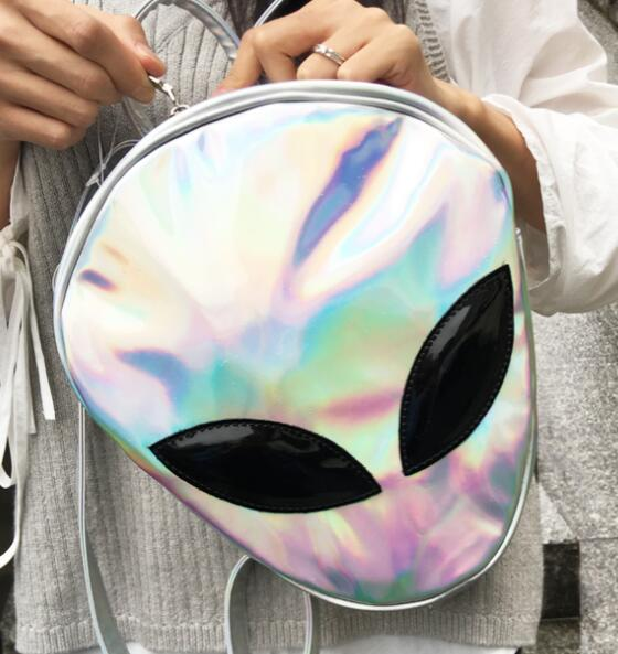 Holo Alien Backpack (3 Colors Available)