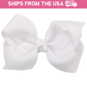 Clip-In Princess Bows (15 Colors Available)