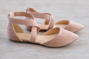 Arabesque Flat In Blush