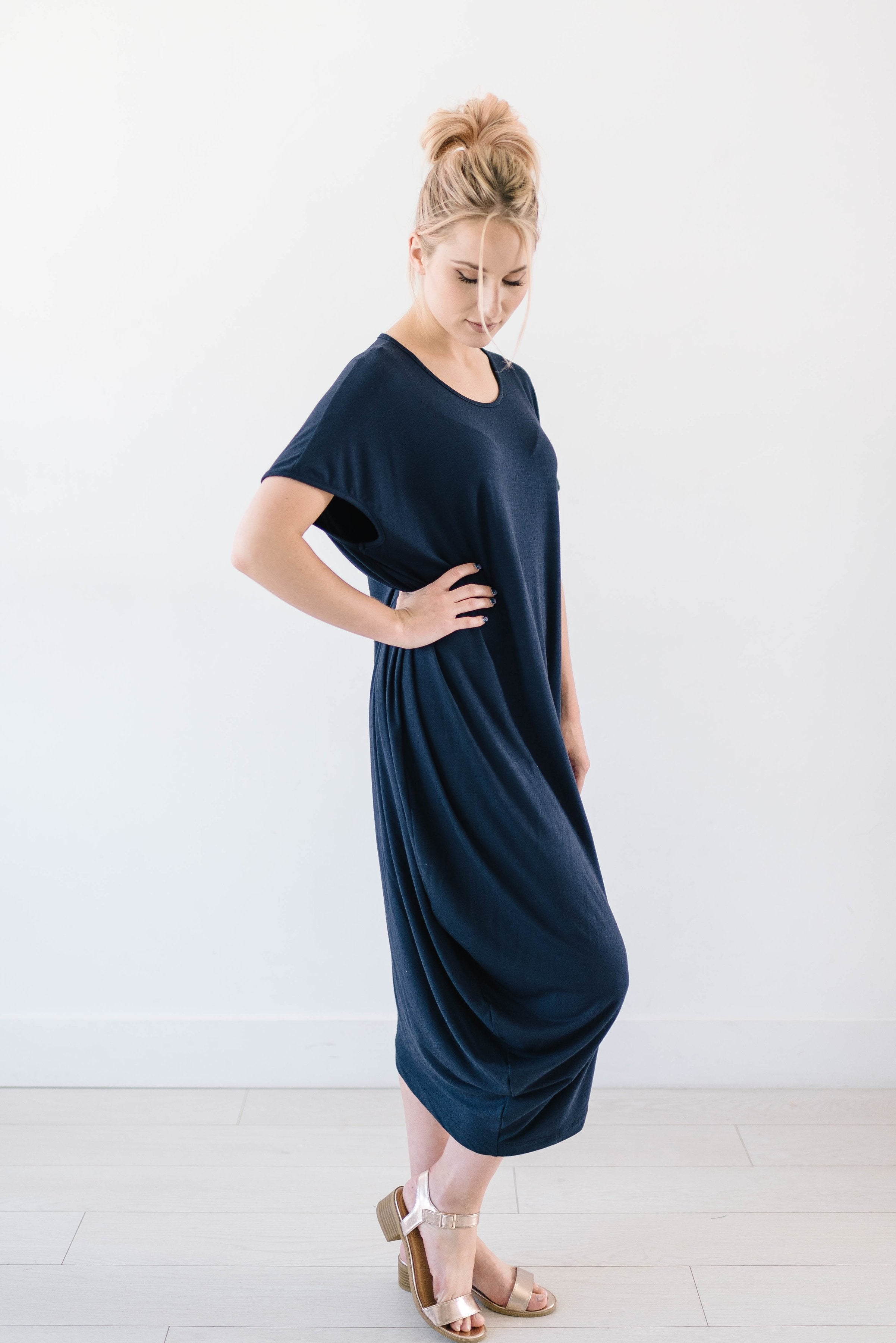 Azul Asymmetrical Hem Dress