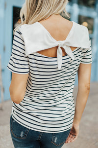 Downtown Striped Tee