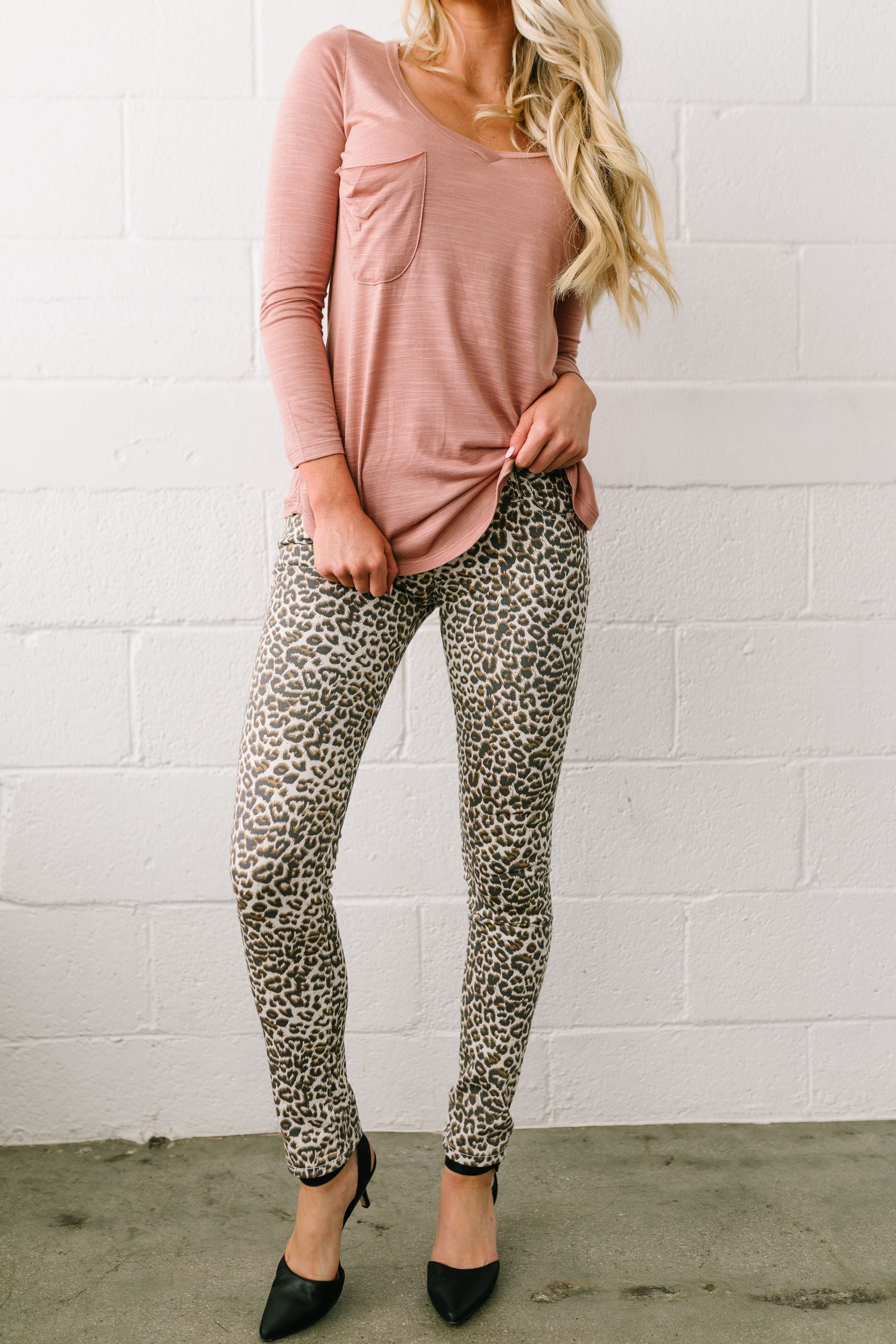 Fast And Furious Faded Leopard Print Jeans