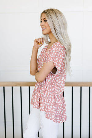 Maisy Spotted Blouse