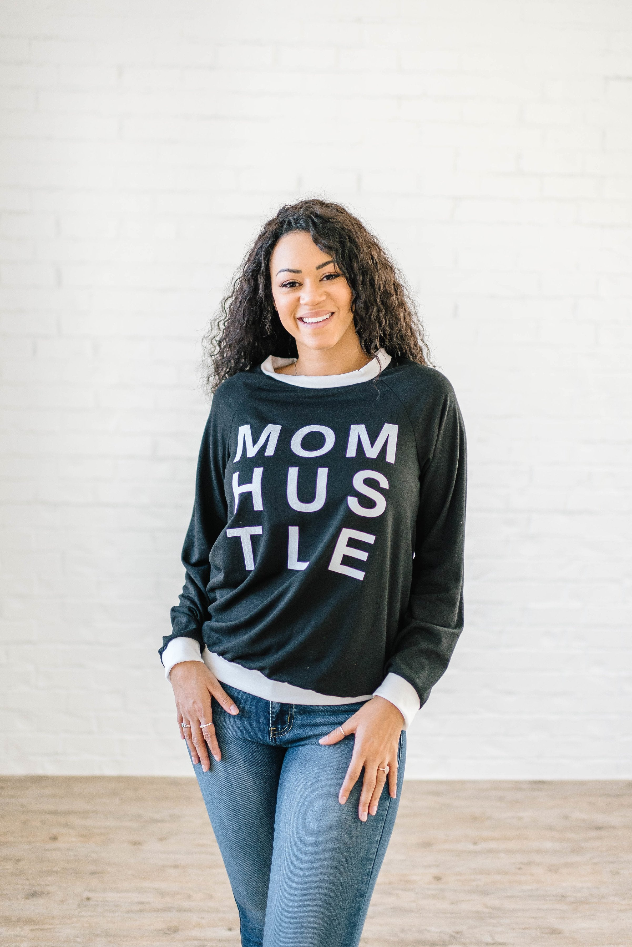 Mom Hustle in Black