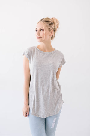 Victoria V Cutout In Gray