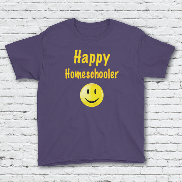 Happy Homeschooler Youth Tee