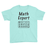 Math Expert Youth Tee