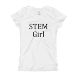 Stem Girl Fitted Tee