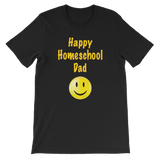 Happy Homeschool Dad Men's Tee
