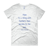 Hope Is a Thing with Feathers Women's Tee