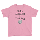 Fields Medalist in Training Youth T-Shirt