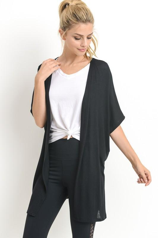 Everyday Cardigan in Black