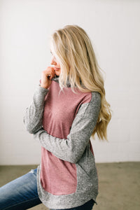Casual But Classy Color Block Top