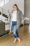 Gray On Gray Lepo Cardi