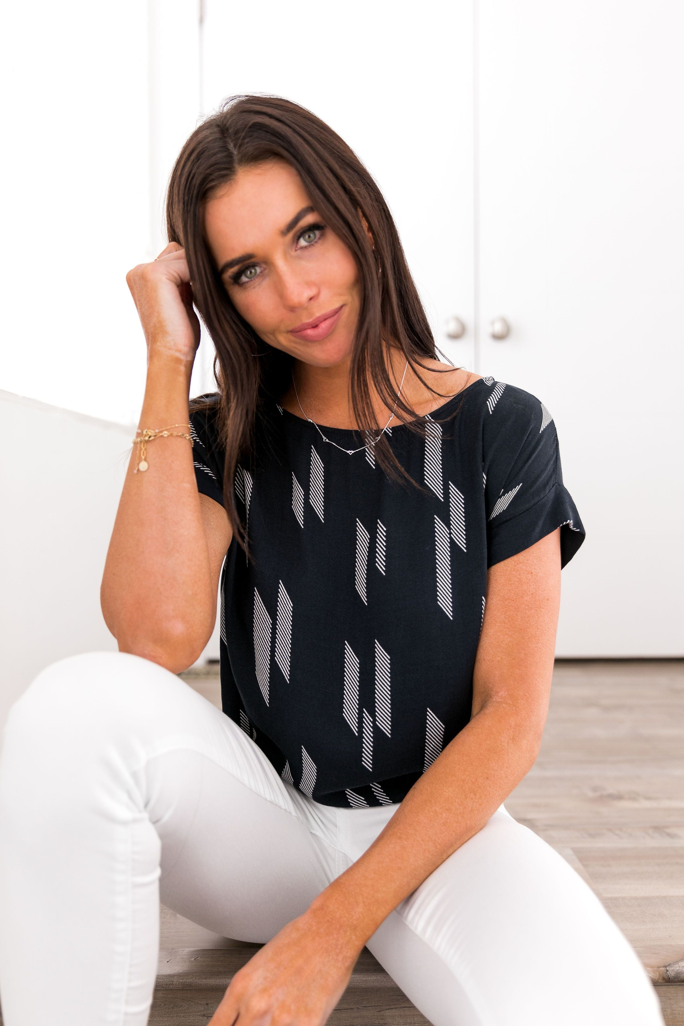 New Haven Tie-Back Blouse