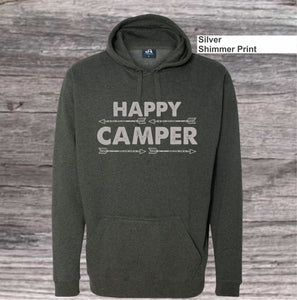 Happy Camper Pull Over Hoodie