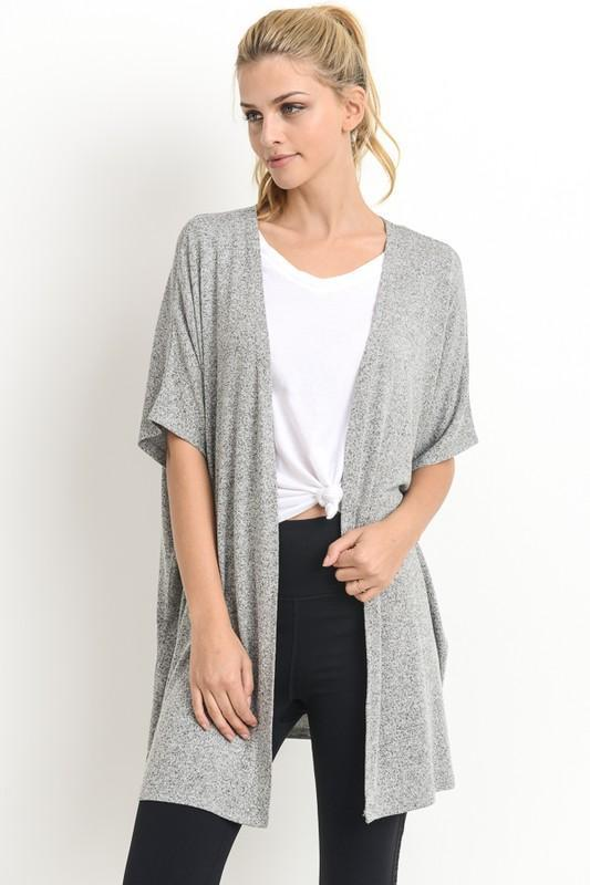 Everyday Cardigan in Gray