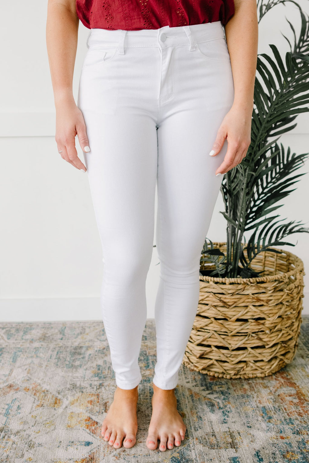 Breath Of Fresh Air White Jeans