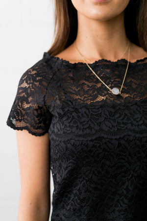 Arsenic + Lace Shoulder Blouse - ALL SALES FINAL