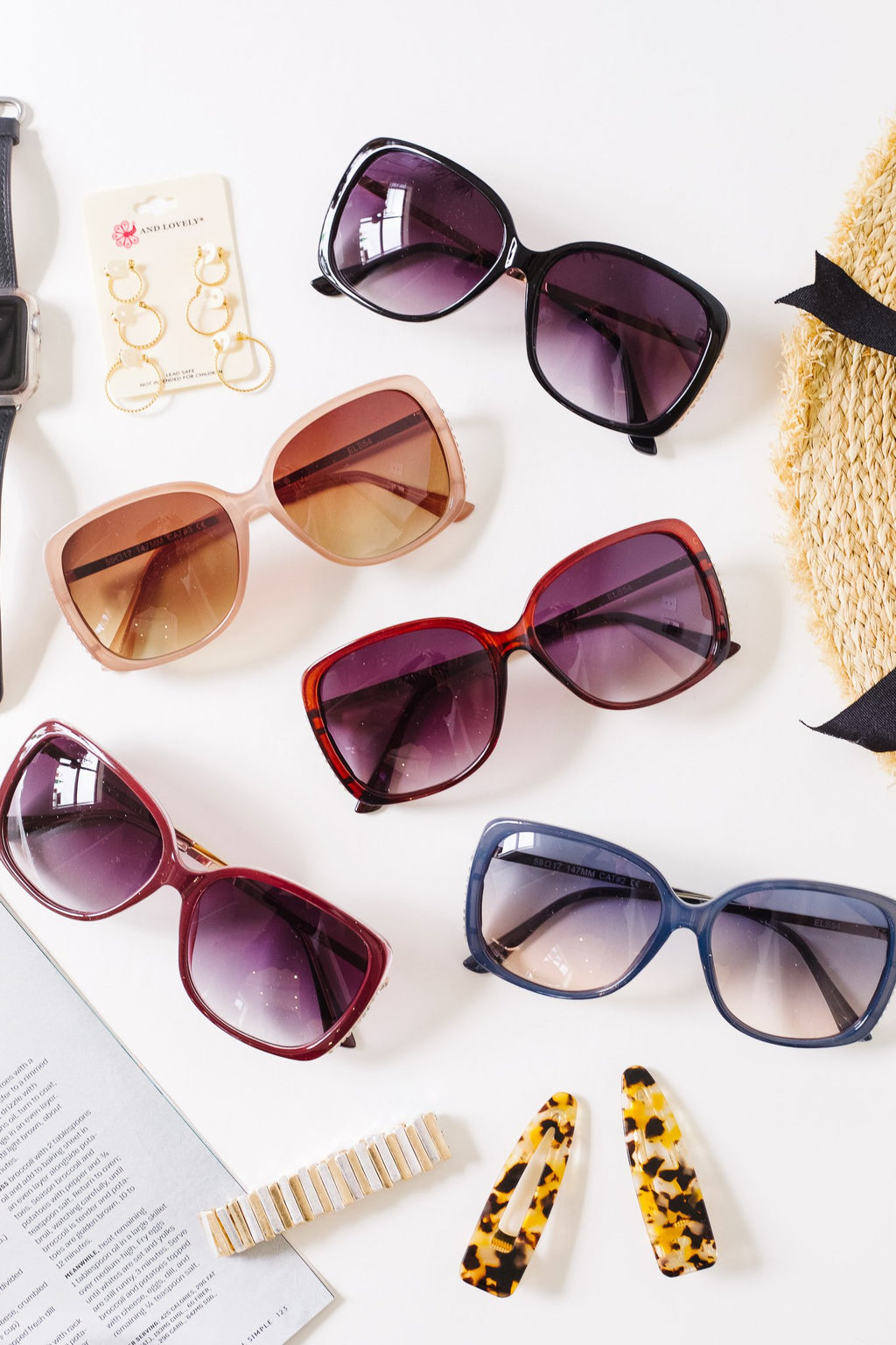 Audrey Oversized Sunglasses