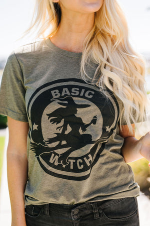 Basic Witch Graphic Tee