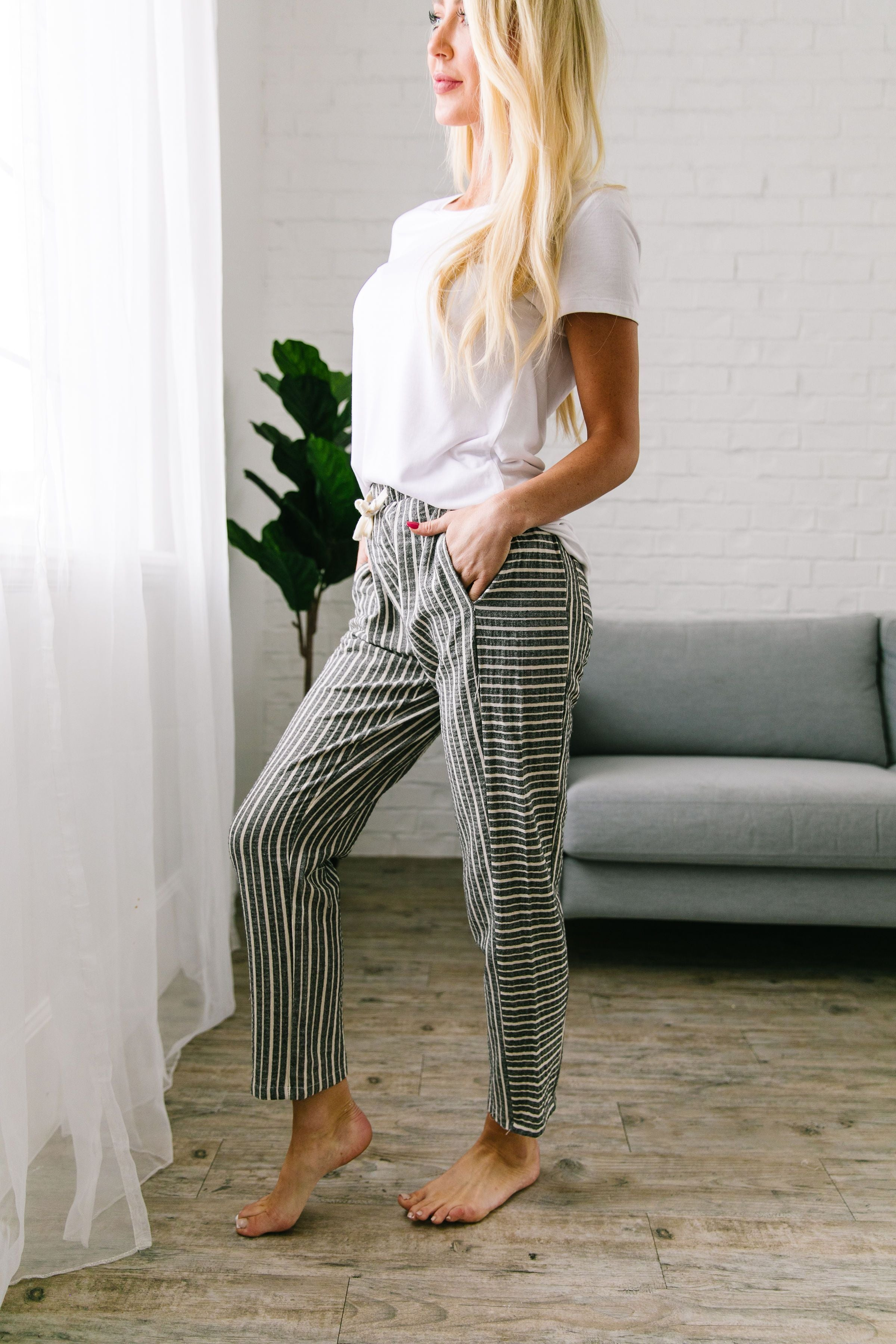 Beachcomber Striped Joggers