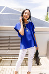 Blue Ribbon Blouse