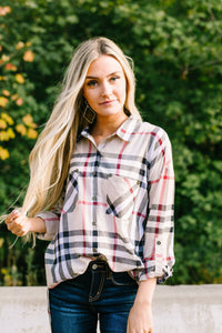 Brilliant Bristol Plaid Button-Down - ALL SALES FINAL