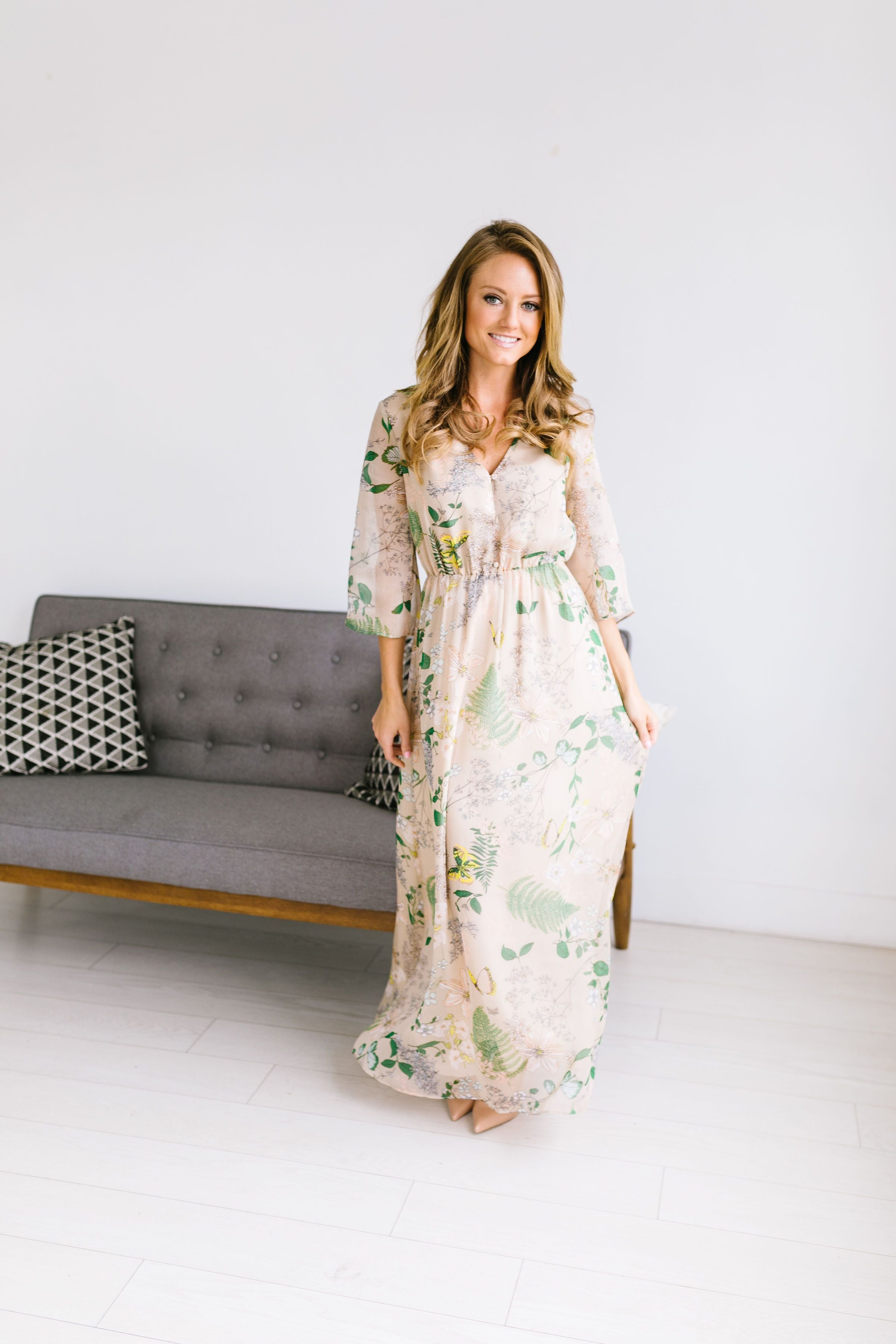 Camille Floral Maxi
