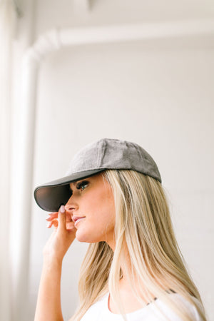 Cap It Off Casual Baseball Hat - ALL SALES FINAL
