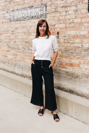 Clarissa Cropped Trousers