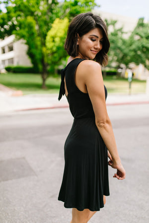 Fun + Flirty Dress In Black