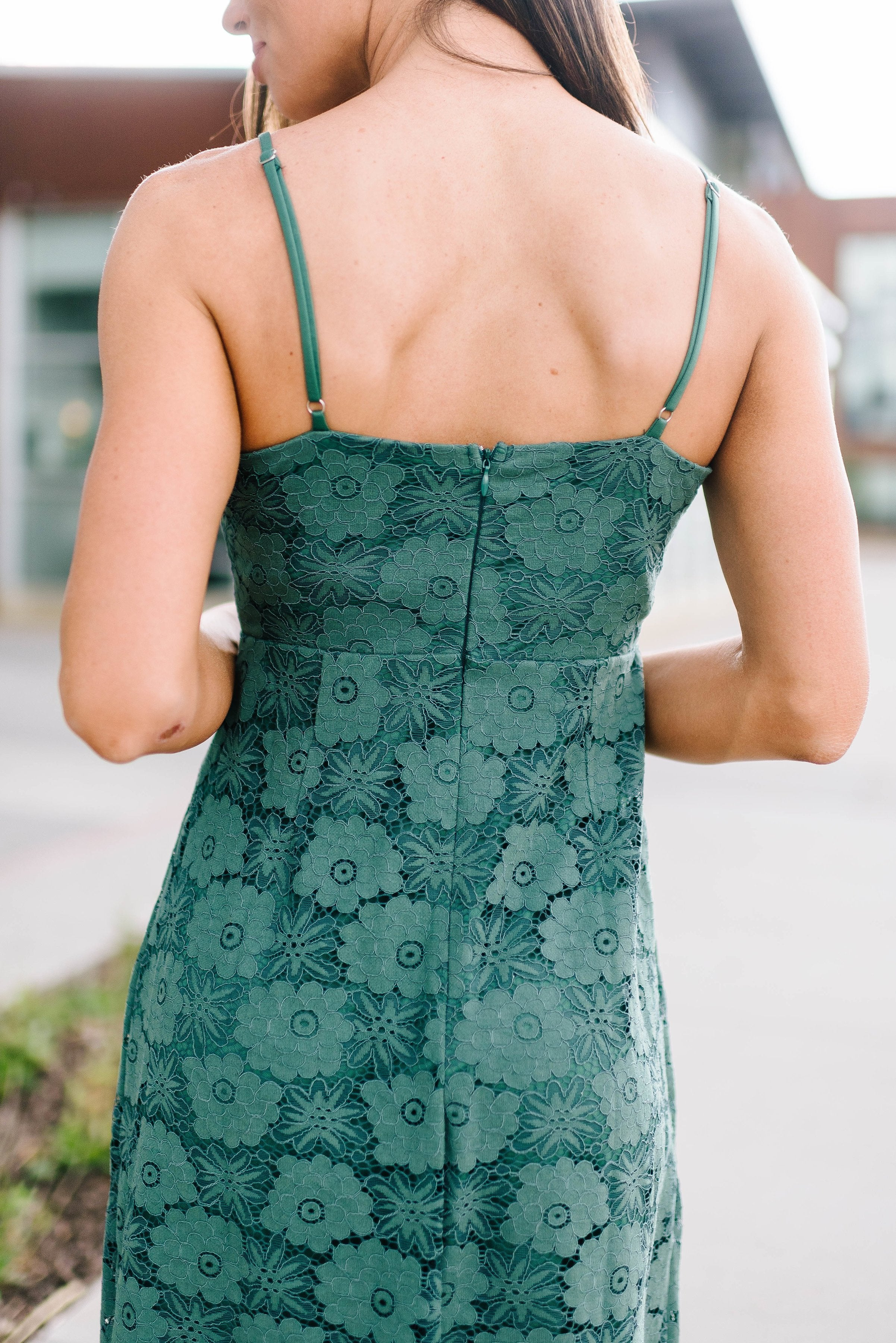 Jade Lace Dress