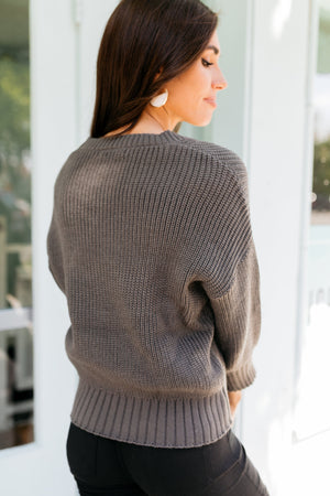 Luna Sweater in Gray