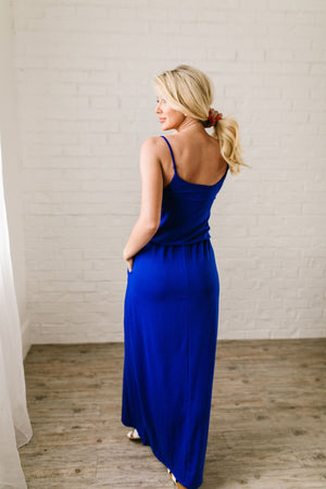 Play The Day Away Maxi In Sapphire