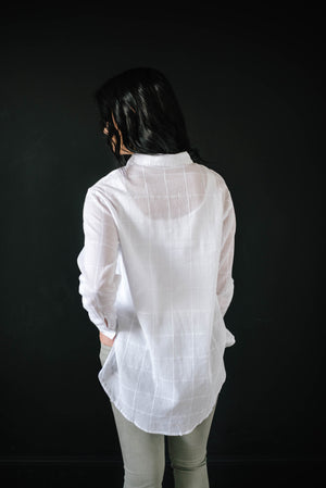 Sasha Ties Tunic in White