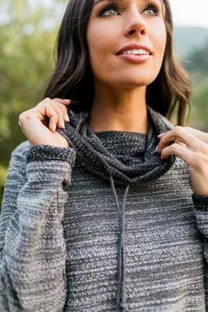 Seattle Skies Cowl Neck