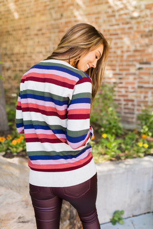 Simply Sublime Striped Sweater