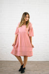 So Rosie Dress in Blush